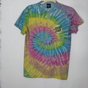 Santa Cruz Skateboards Tie Dye Shirt